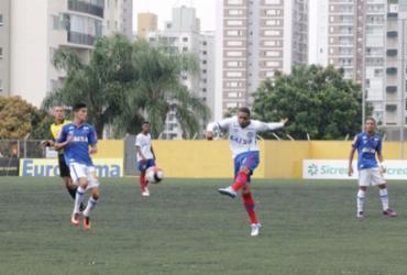 Bahia perde para o Cruzeiro e dá adeus à Copa São Paulo