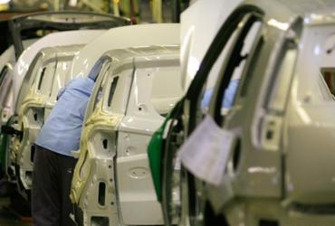 Produção da indústria baiana diminui 5,4%