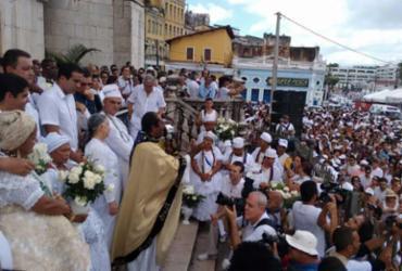 Colina Sagrada recebe baianos e turistas no final do cortejo da festa de Senhor do Bonfim