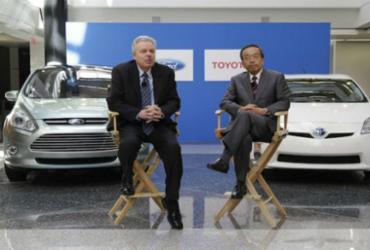 Ford e Toyota fazem parceria tecnológica