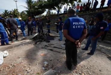 Ossada humana é encontrada próxima ao Parque Costa Azul