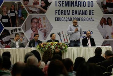 Educação profissional na rede pública é debatida em seminário