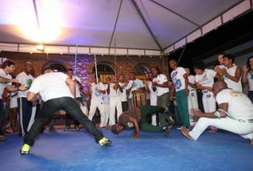 Roda de capoeira inicia evento internacional que vai até sábado