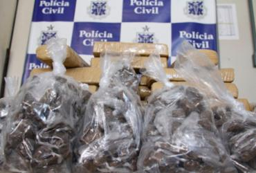 Drogas que seriam comercializadas no carnaval são apreendidas em Sussuarana