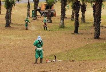 Oito máquinas roçadeiras são roubadas na Av. Bonocô