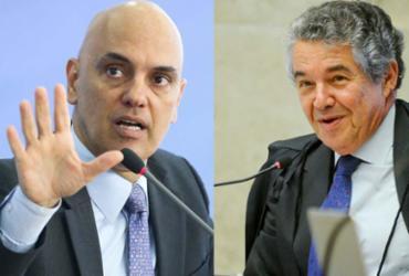 Ministro Alexandre de Moraes tem perfil ideal para o STF, diz Marco Aurélio