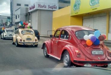 Bahia faz festa em homenagem ao Fusca