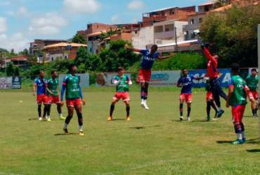 Bahia encerra preparação para a largada na Copinha