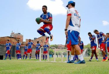 Bahia estreia contra Jacobina dando espaço para garotos da base