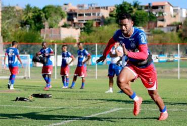 Bahia se reapresenta e faz treino regenerativo
