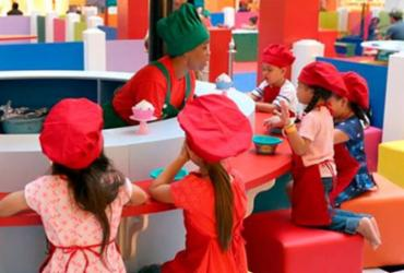 Shopping realiza oficina de gastronomia para crianças |