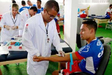 Segundo dia de exames no Bahia tem presença de Edigar Junio