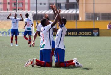 Bahia vence Trindade de virada na estreia da Copa São Paulo