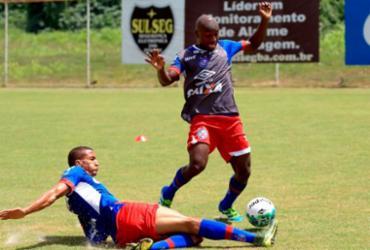 Armero faz primeiro treino com a camisa do Bahia