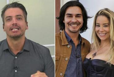André Gonçalves defende Danielle Winits e ameaça jornalista; assista