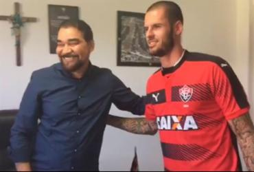 Vitória acerta contratação do zagueiro Fred