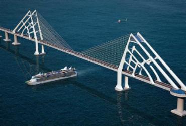Ponte SSA-Itaparica vai, túnel vem e vai. Ponte fica, diz Leão | Foto: Divulgação