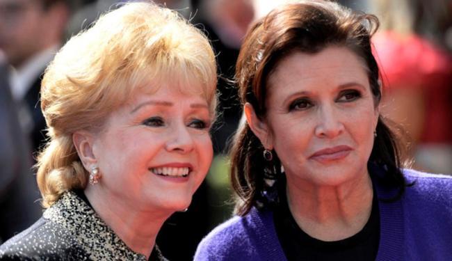 Sala Walter homenageia Carrie Fisher e Debbie Reynolds - Foto: Reprodução