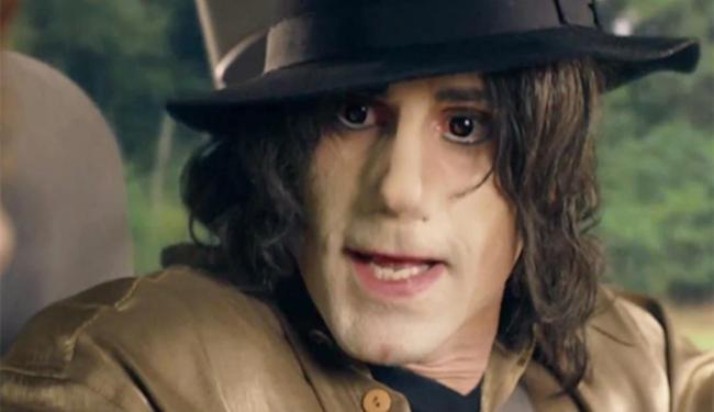 Críticas foi por conta da caracterização do ator como Michael Jackson - Foto: Reprodução