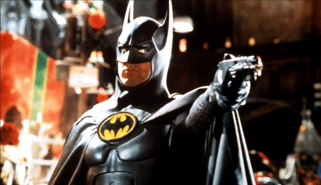 Michael Keaton foi Batman em dois filmes de Tim Burton - Foto: Divulgação
