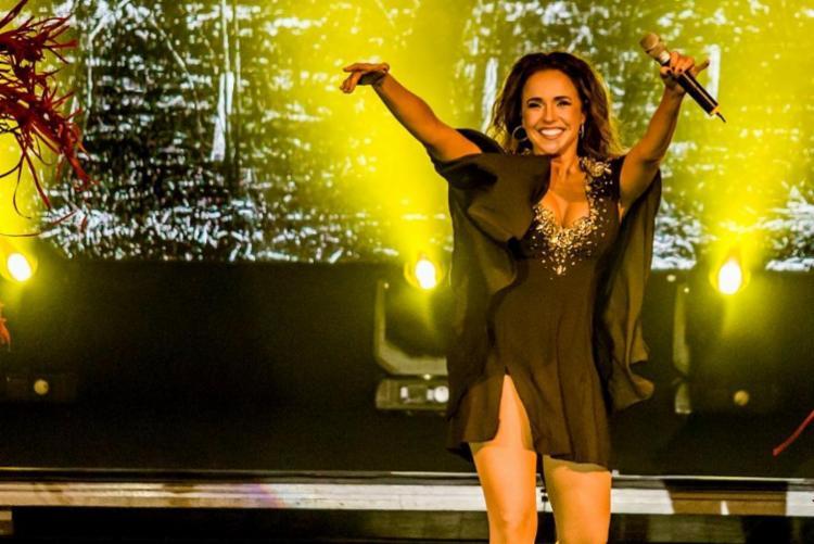 Daniela Mercury vai cantar sucessos com Margareth - Foto: Célia Santos | Divulgação