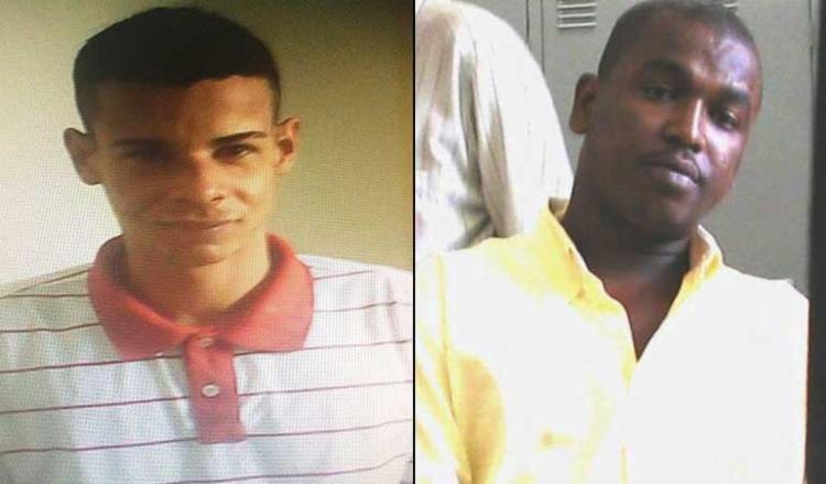 Patric Ribeiro Tupinambá e Edgar da Silva Santos foram detidos nesta manhã - Foto: Divulgação | SSP