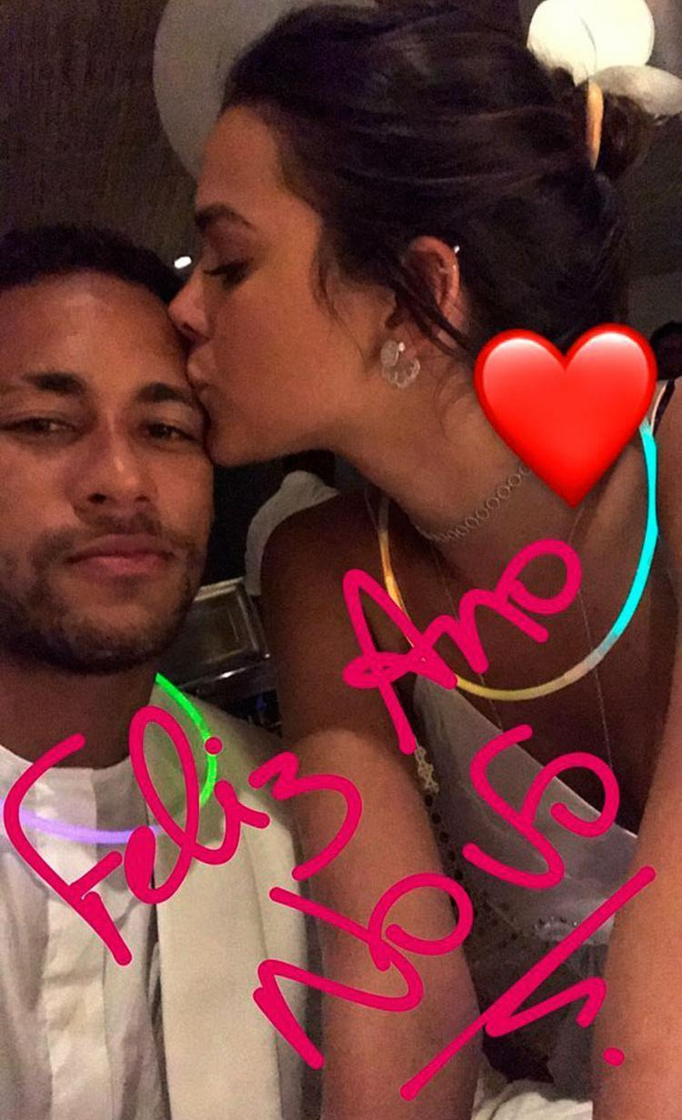 O jogador e a atriz começaram a se relacionar em 2013 - Foto: Reprodução | Instagram