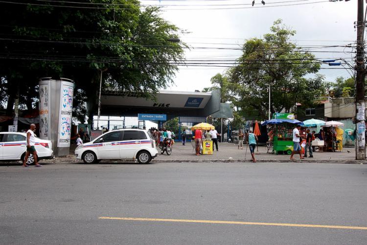 Wagner dos Santos foi morto em frente à entrada do Plano Inclinado, - Foto: Edilson Lima l Ag. A TARDE