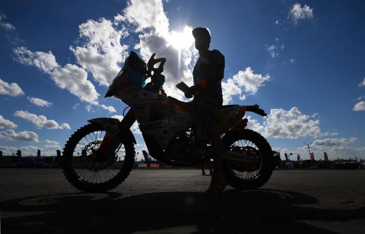 O início do Rally será em Assunção, no Paraguai - Foto: Franck Fife | AFP