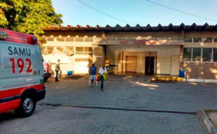 Dupla foi levada para Hospital Clériston Andrade - Foto: Reprodução | Acorda Cidade