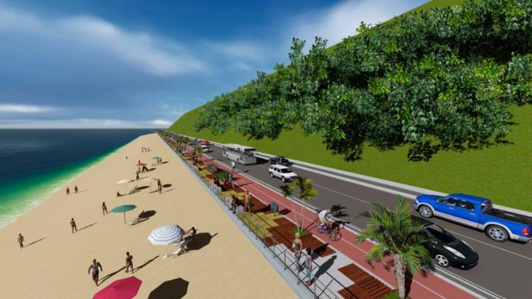A obra na região tem investimento de R$ 26 milhões - Foto: Secom-PMS | Divulgação