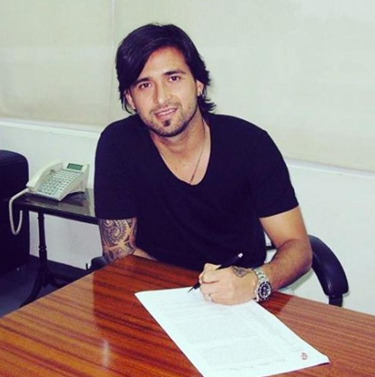 Leonardo Pisculichi chegou ontem e já assina contrato hoje junto com Gabriel Xavier - Foto: Reprodução   Instagram