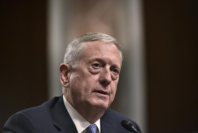 O Senado aprovou a nomeação do general aposentado da Marinha para liderar o Departamento de Defesa dos EUA - Foto: Mandel Ngan l AFP
