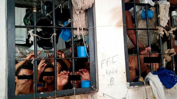 Mais de 100 presos ocupam espaço projetado para 16 homens - Foto: Divulgação | Defensoria