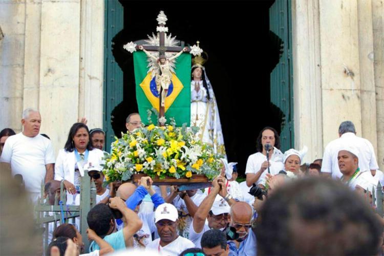 Imagem saiu da Conceição da Praia até a Colina Sagrada - Foto: Mateus Pereira | Divulgação | GOVBa