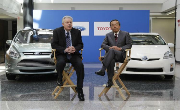 Parceria inédita entre Ford e Toyota - Foto: Divulgação