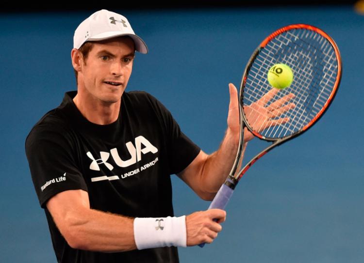 Murray é o atual número 1 do mundo - Foto: Paul Crock | AFP