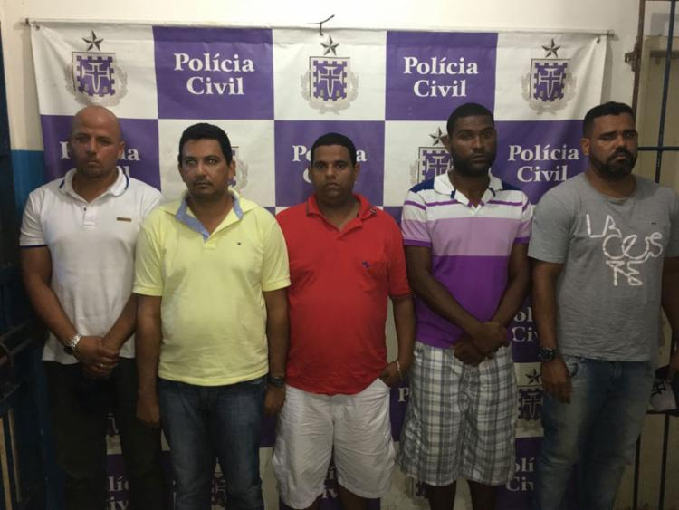 Oito dos integrantes que participaram do crime são homens - Foto: Divulgação | Polícia Civil