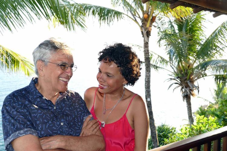 Caetano e Teresa em temporada baiana - Foto: Fernando Iglesias Mas | Divulgação