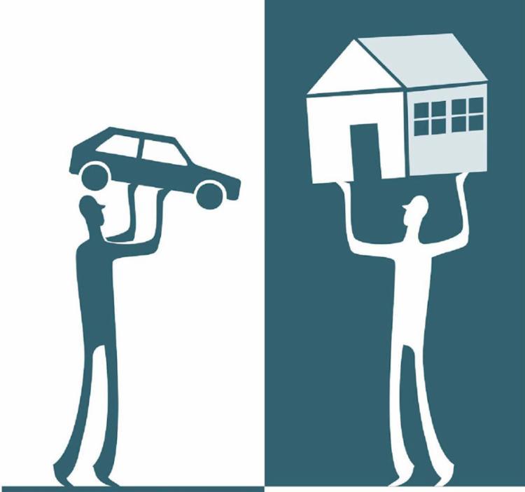 Geralmente, troca é de terreno por apartamentos ou por outros bens, como automóvel, e acréscimo de dinheiro - Foto: Ilustração Bruno Aziz