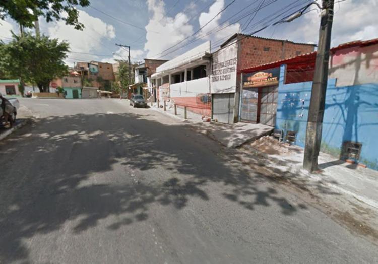 O crime aconteceu na rua Franco Velasco, por volta de 23h - Foto: Reprodução | Google Maps