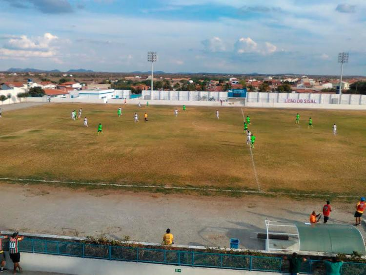 O Flu enfrentou a equipe da Jacuipense no Eliel Martins - Foto: Fluminense de Feira FC   Divulgação