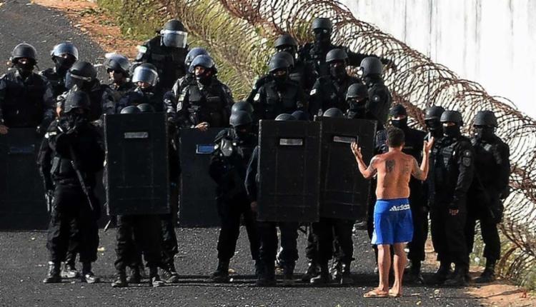 O Batalhão de Operações Especiais (Bope) da Polícia Militar foi acionado - Foto: Andressa Anholete | AFP