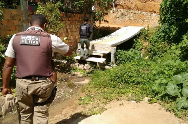 O crime aconteceu na rua da Paz, no bairro de Mata Escura - Foto: Edilson Lima   Ag. A TARDE