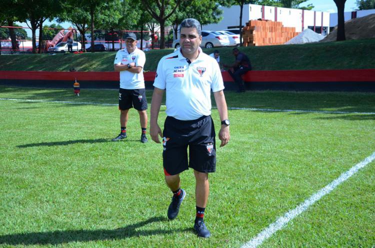 O técnico passará detalhes sobre o que ocorreu - Foto: Atlético-GO | Divulgação