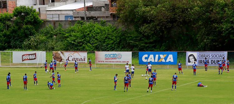 O Tricolor se prepara para o início da temporada - Foto: Felipe Oliveira | EC Bahia