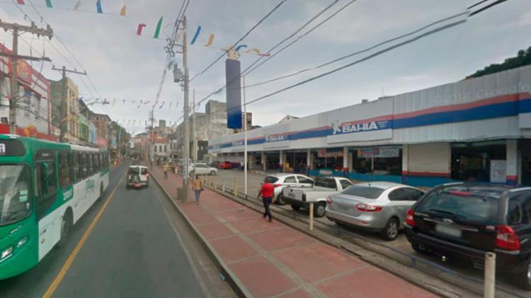 O motorista fugiu do local - Foto: Reprodução | Google Maps