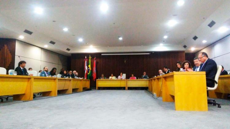 Reunião que definiu medidas ocorreu nesta quarta, 18, no CAB - Foto: Luan Santos | Ag. A TARDE