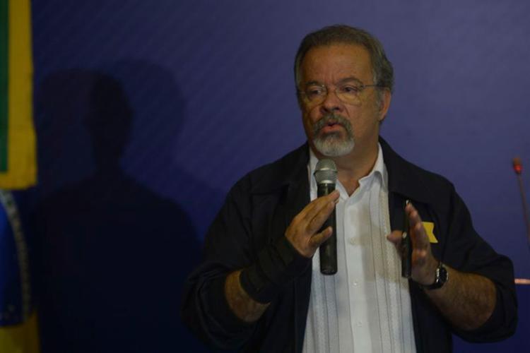O ministro da Defesa, Raul Jungmann, falou sobre a atuação das Forças Armadas nos presídios brasileiros - Foto: Marcello Casal Jr l Agência Brasil