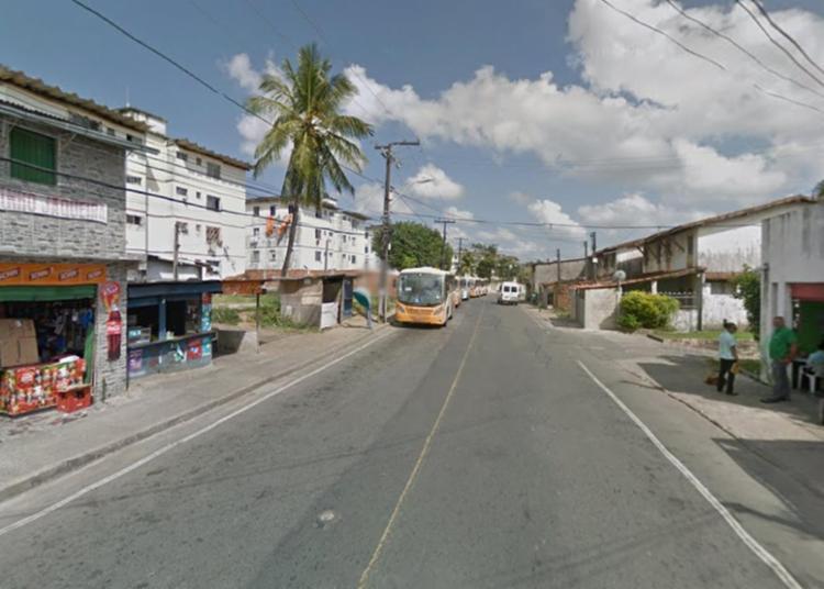 Crime aconteceu próximo ao fim de linha de Boca da Mata - Foto: Reprodução | Google Maps